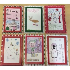 Christmas Cards Children Design